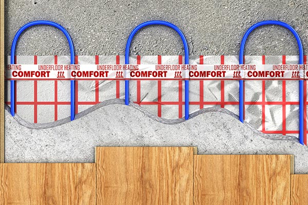 Electric Under Floor Heating Brits And Mortar